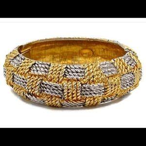 Kenneth Jay Lane KJL Clamper Bracelet